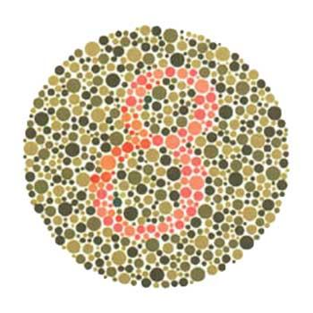 Test de viziune de culoare