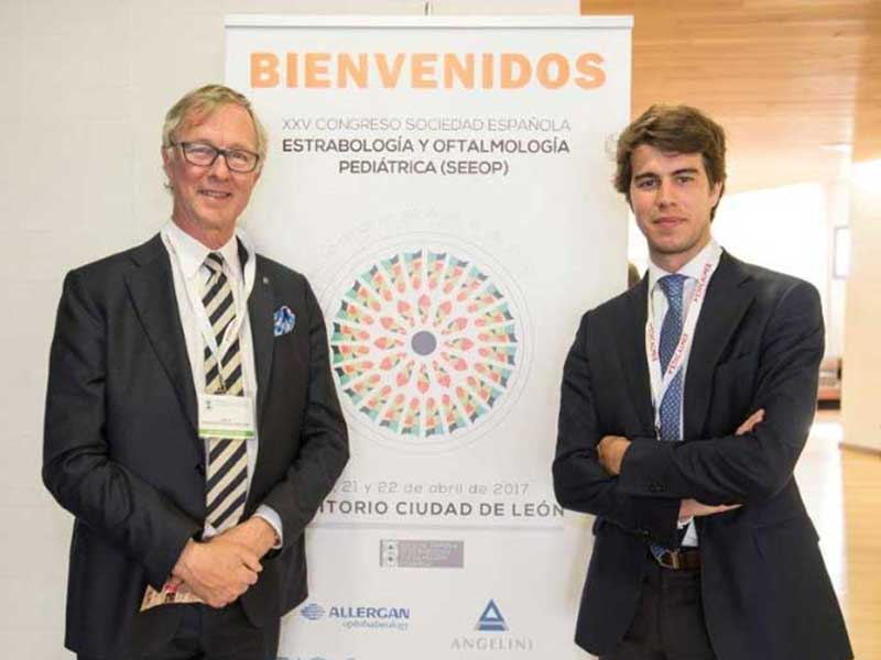 DRS GARCÍA DE OTEYZA PARTICIPATE SUCCESSFULLY AT THE XXV CONGRESS OF THE SPANISH SOCIETY OF STRABISMOLOGY AND PAEDIATRIC OPHTHALMOLOGY