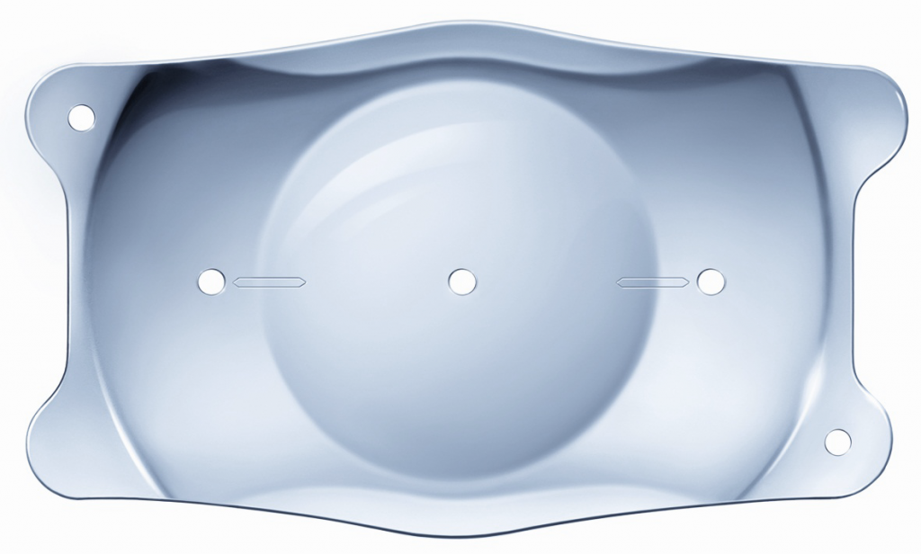 Aspecto de una lente ICL